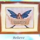 *ENCHANTING LAIR Cross Stitch Pattern ANGEL BELIEVE