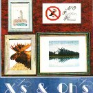 *X'S AND OH'S Cross Stitch Pattern SNAPSHOTS  2001