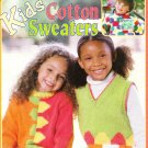 *Knit * 9 * Kids' Cotton Sweaters Designs by Melissa Leapman
