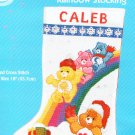 *Care Bears Cross Stitch  KIT ~ SANTAS RAINBOW STOCKING