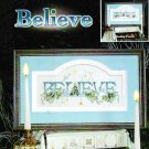 *Cross Stitch Pattern ~ BELIEVE 2006