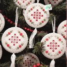 *Heirloom Christmas Ornaments ~ Hardanger Snowflakes and Flowers