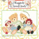 *Cross Stitch Patterns - Cherished Teddies - Raggedy Ann Hug is Worth a Thousand Words