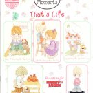 OOP *PRECIOUS MOMENTS *17* THAT'S LIFE Designs by Gloria & Pat
