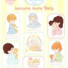 *PRECIOUS MOMENTS *30* WELCOME HOME BABY Designs by Gloria & Pat