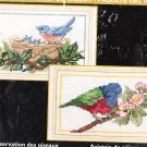 2 Bird Cross Stitch KIT BIRD WATCHING