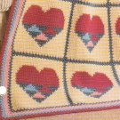 *Crochet 4 Afghan Collectors Series Patterns - All Hearts Patchwork Plus