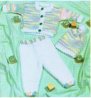 Crochet Bridal Shell Garter Pattern