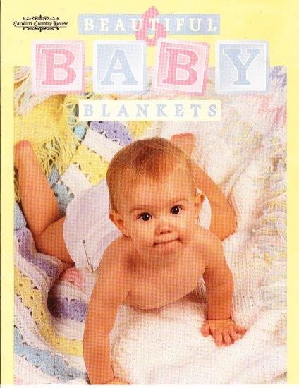 *Crochet  * 6 * Baby Blankets - Grandma's Baby  - Baby Love -  Rainbow Ripples