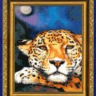 *JAGUAR MOON CROSS STITCH PATTERN - KUSTOM KRAFTS 2001