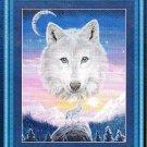 *MOUNTAIN WOLF CROSS STITCH PATTERN - KUSTOM KRAFTS 2003