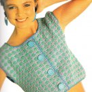 ** 25 * Crochet Book Fashions Evening Wear Vests Pullovers PLUS Patterns