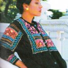 *Knit Ladies Sweaters from Around the World Patterns  Austalia - North and South America - Africa