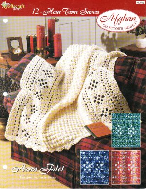Baby Angel Afghan Crib Blanket Filet Crochet Pattern