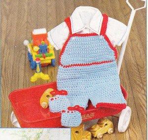 Wrangler Baby Toddler Boy Premium Overalls - Walmart.com