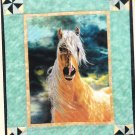 * Embellished Cross Stitch Kit  HORSE  GOLDEN SUNSET