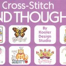 * 80+ Cross Stitch Patterns  KIND THOUGHTS