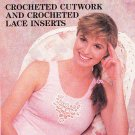 * Crochet Cutwork - Lace Inserts - Childs & Toddler  Dress Cardigan and Hat