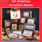 * 11 Cross Stitch Patterns THE GREAT ALL AMERICAN ARMCHAIR ATHLETE