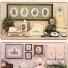 * 4 Theme Cross Stitch Patterns  BATH COLLECTIONS butterfly +