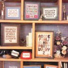 * 7 MASCULINE ALPHABET Style  Cross Stitch Patterns