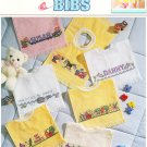 * 7 BABY BIBS Cross Stitch Patterns