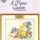 * 5 Flower Cross Stitch Patterns  A FLOWER GARDEN 1990