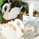 * Swan Bathroom Set - Sunbonnet Sue Kitchen Patterns Plus Others
