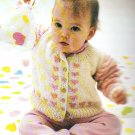 * Family Circle Craft Book - Wooden Cradle Pattern Afghan Patterns Baby Knits