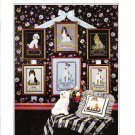 * 5 DOG Cross Stitch Patterns ~ LOYAL FRIENDS DOGS  1987