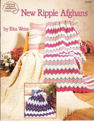 * Knit / Crochet * 10 * Ripple Afghan Patterns
