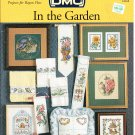 * FLOWER Cross Stitch Pattern DMC ~ IN THE GARDEN 1999