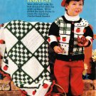 * McCall&#39;s Crochet Patterns - Apple Afghan and Sweater for Boys