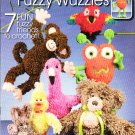 Crochet Fuzzy Wuzzies Friends by Annie's Attic - 7 Patterns
