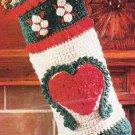 * Crochet Country Christmas Afghan and Christmas Stocking