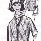 * Knitted  VINTAGE Mail Order Jacket Pattern / Vest Pattern