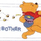 * Disney Pooh Cross Stitch KIT   OH BROTHER