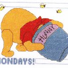 * Disney Pooh Cross Stitch KIT  MONDAYS 2004