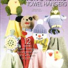 *Annie's Attic Crochet 12 Terrific Cute Towel Hangers - Dog - Santa - Snowman