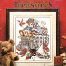 *1 Cross Stitch Pattern Stoney Creek TEDDIES' TRUNK OF TREASURES