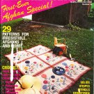 *Crochet Fantasy First Afghan Special - 29 Patterns - Butterfly Pillows - Bear pattern -