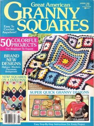*Great American Granny Square - Afghans - Shawls - Sweaters PLUS