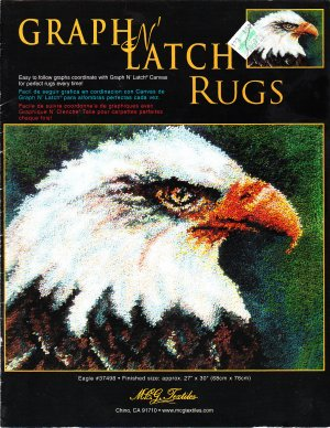 "*Latch Hook pattern - EAGLE - 27"" X 30"""