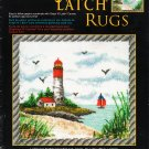 "*Latch Hook pattern - Lighthouse  - 42"" X 46"""