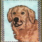 "*Latch Hook pattern - Golden Lab  - 30"" X 36"""