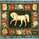 McCall's Afghan Book - Victorian Horse - Nostalgia Embroidered Afghan