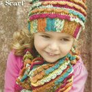 *Red Heart Child's Cap and Scarf - 12 more patterns