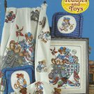 *14 Cross Stitch Patterns Stoney Creek TEDDIES and TOYS