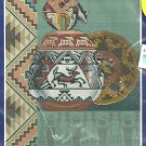 *Southwest Cross Stitch -1 pattern INDIAN STILL LIFE 1999 Candamar