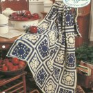 *Crochet Afghan Collector's Series - Delft Reflections